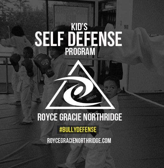 Kids Self Defense Anti Bully Classes Royce Gracie Jiu Jitsu Northridge