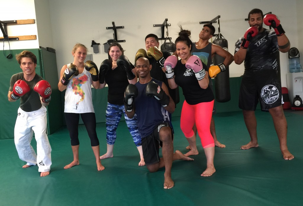 $10 Kickboxing Bootcamp at Royce Gracie Jiu Jitsu Self Defense Class in Northridge